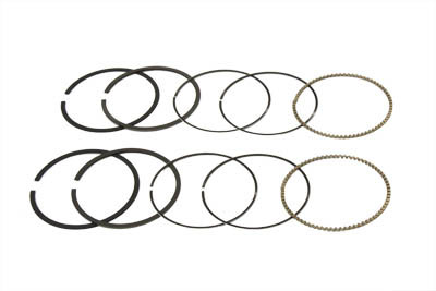 V Twin 1200cc Hastings Moly Standard Piston Ring Set 04 16 Harley Sportster Xl 11 1394 on harley davidson sportster frame