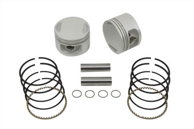 V-Twin Mfg 11-9767 Replica 1200cc Piston Set .010 Oversize