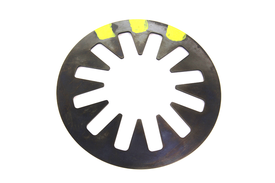V-Twin Manufacturing - Yellow diaphragm clutch spring.