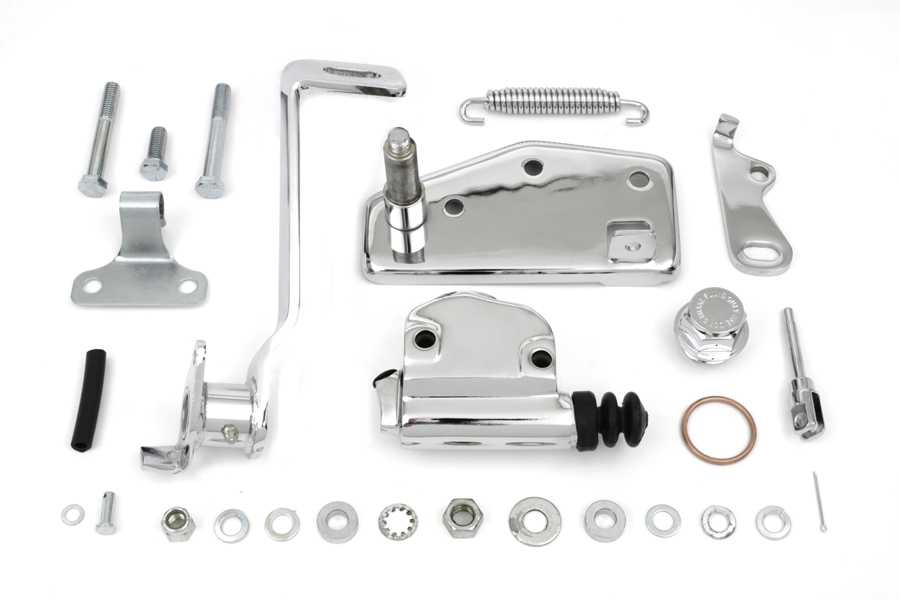 forward brake control kit hydraulic for harley davidson motorcycles by v