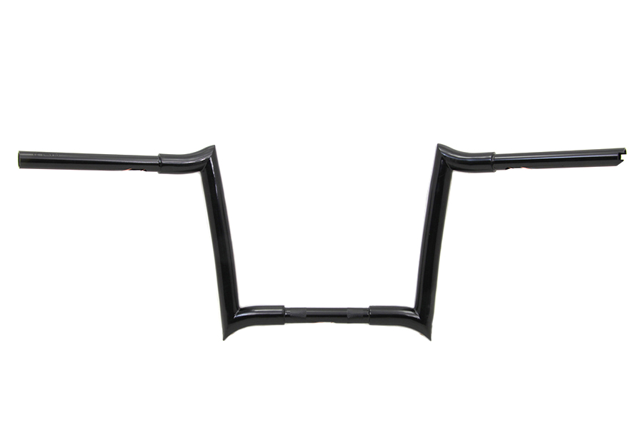 v-twin manufacturing  4 u0026quot  handlebar has holes for internal wiring and features