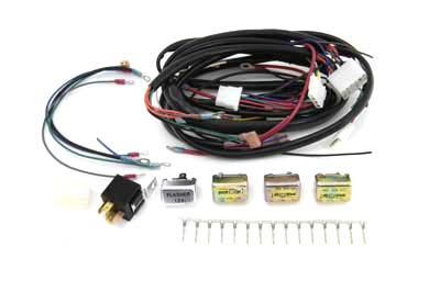 custom auto wire harness v-twin manufacturing - custom chopper wiring harness kit ... #3