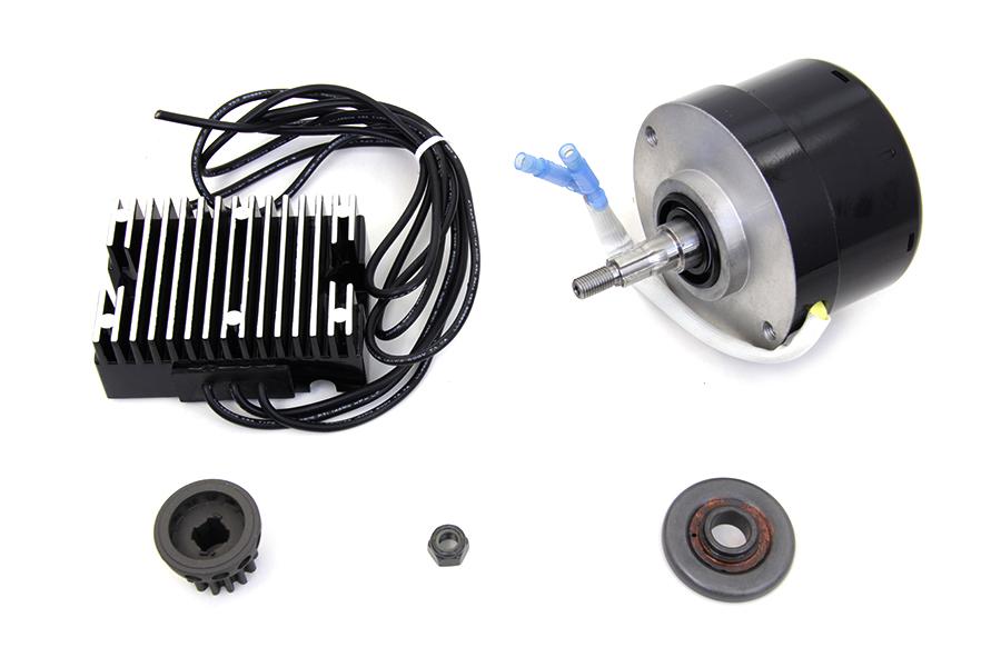 complete alternator generator conversion kit kit for. Black Bedroom Furniture Sets. Home Design Ideas