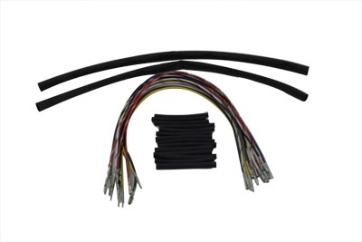 V-Twin Manufacturing - Handlebar wiring harness extension ... on headlight harness, seat harness, spark plug harness, gear harness, ignition harness, tire harness,