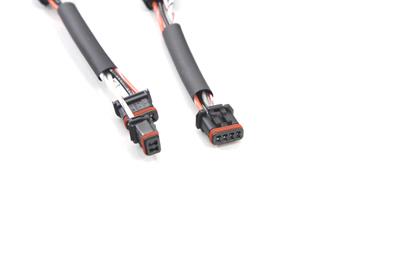 handlebar switch wiring harness 4 extension kit for harley. Black Bedroom Furniture Sets. Home Design Ideas