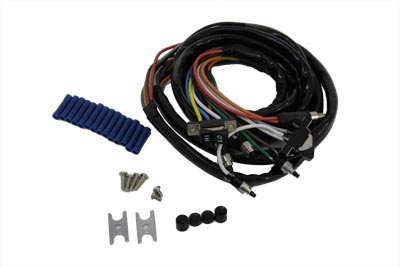 Awesome V Twin Manufacturing Handlebar Wiring Harness And Switch Assembly Wiring Digital Resources Funapmognl