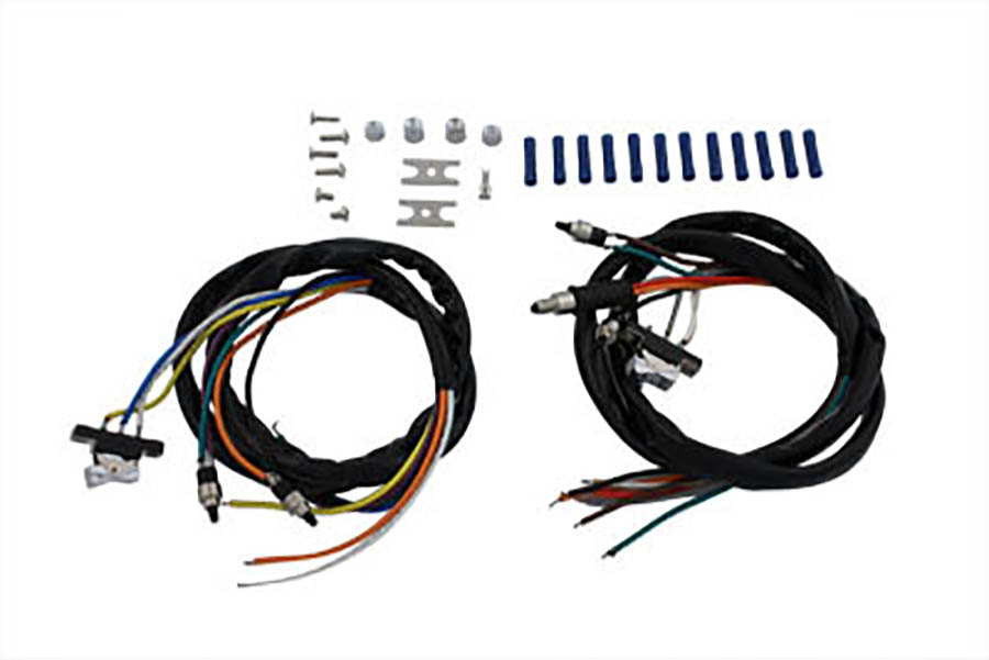 Superb V Twin Manufacturing Handlebar Wiring Harness And Switch Assembly Wiring Digital Resources Funapmognl