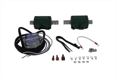 this dyna 2000i digital ignition kit features dual plug, sin gle fire  operation, 8