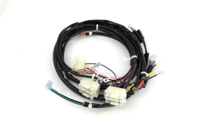 v twin manufacturing main wiring harness kit features plastic wire Wiring Harness 93A050059
