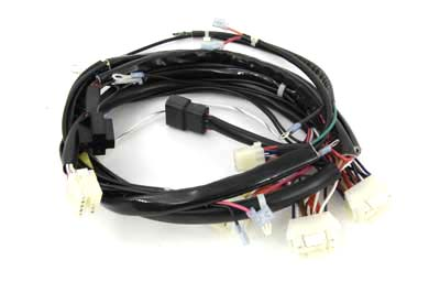 main wiring harness kit for harley davidson motorcycles by. Black Bedroom Furniture Sets. Home Design Ideas