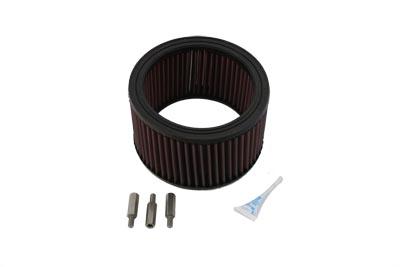 High Flow Air Filter Kit,for Harley Davidson motorcycles,by V-Twin