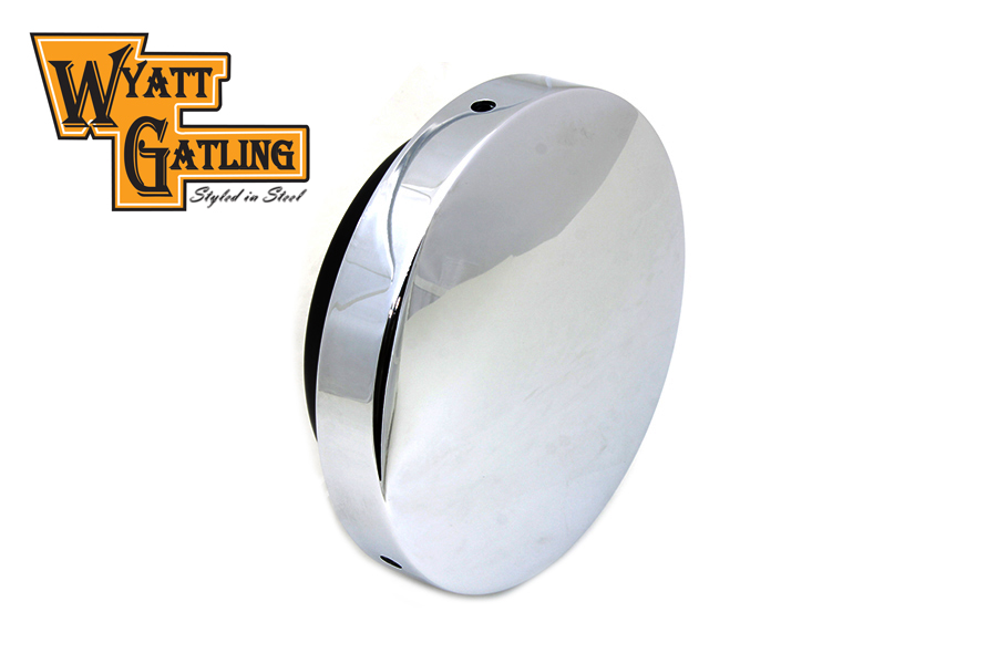 Moon Air Cleaner : Wyatt gatling chrome baby moon air cleaner for harley
