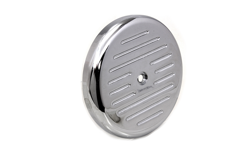Motorcycle Air Cleaner Covers : Chrome ball milled air cleaner cover for harley davidson