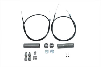 Cable Kit for Throttle and Spark Controls,for Harley
