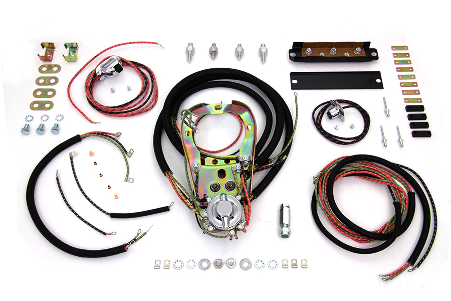 two light dash base wiring harness assembly for harley davidson image is loading two light dash base wiring harness assembly for