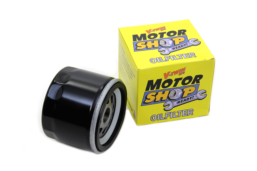 Motor Shop Oil Filter For Harley Davidson Motorcycles By V Twin