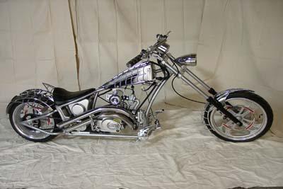 V Twin Manufacturing Spider Bike Mini Chopper Is