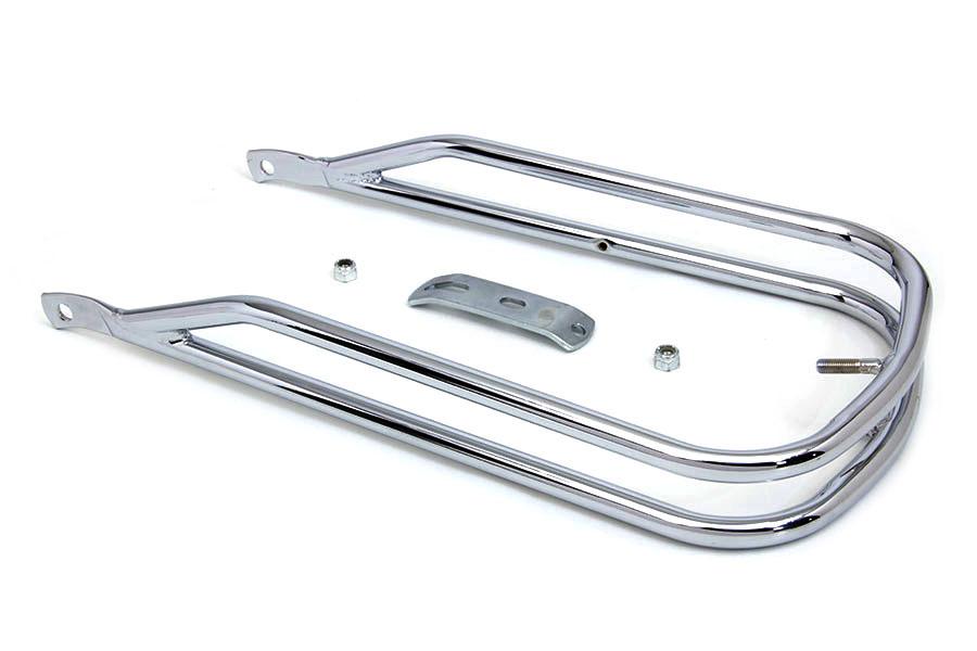 Front fender chrome trim rail for harley davidson
