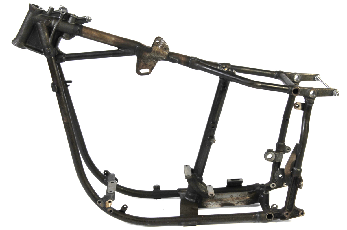 V-Twin Manufacturing - Replica swingarm frame is an authentic ...