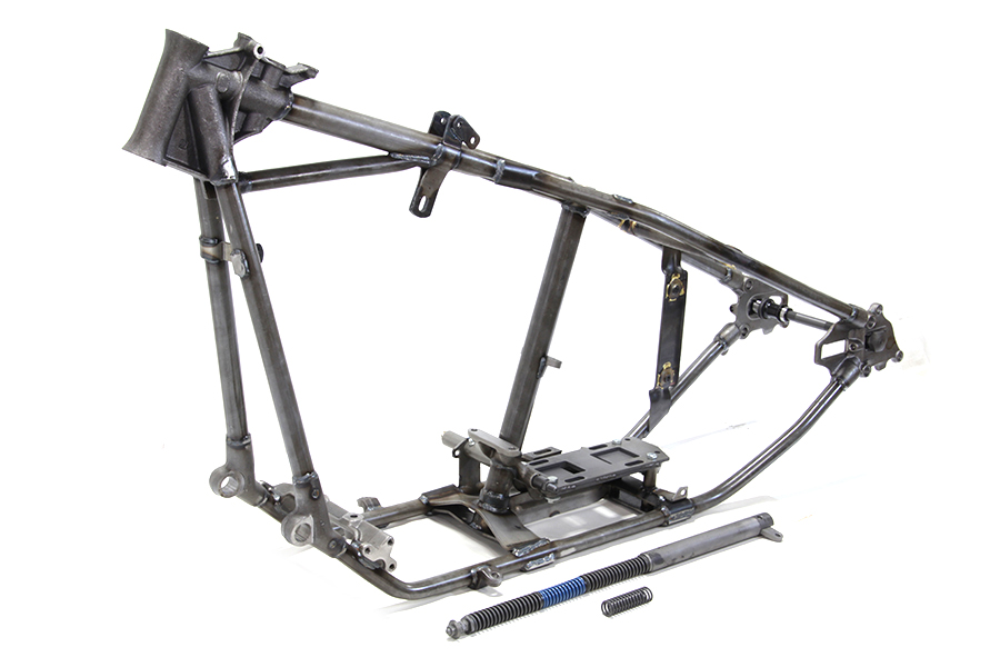 V-Twin Manufacturing - Replica Knucklehead frame is an authentic ...