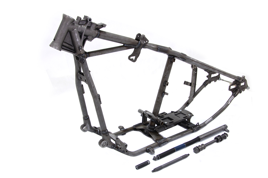 V-Twin Manufacturing - Replica Wishbone frame is an authentic ...