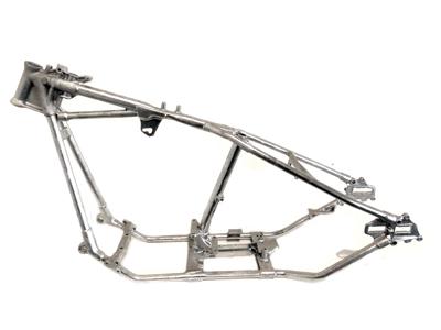 V-Twin Manufacturing - Replica retro rigid frame straight leg style ...