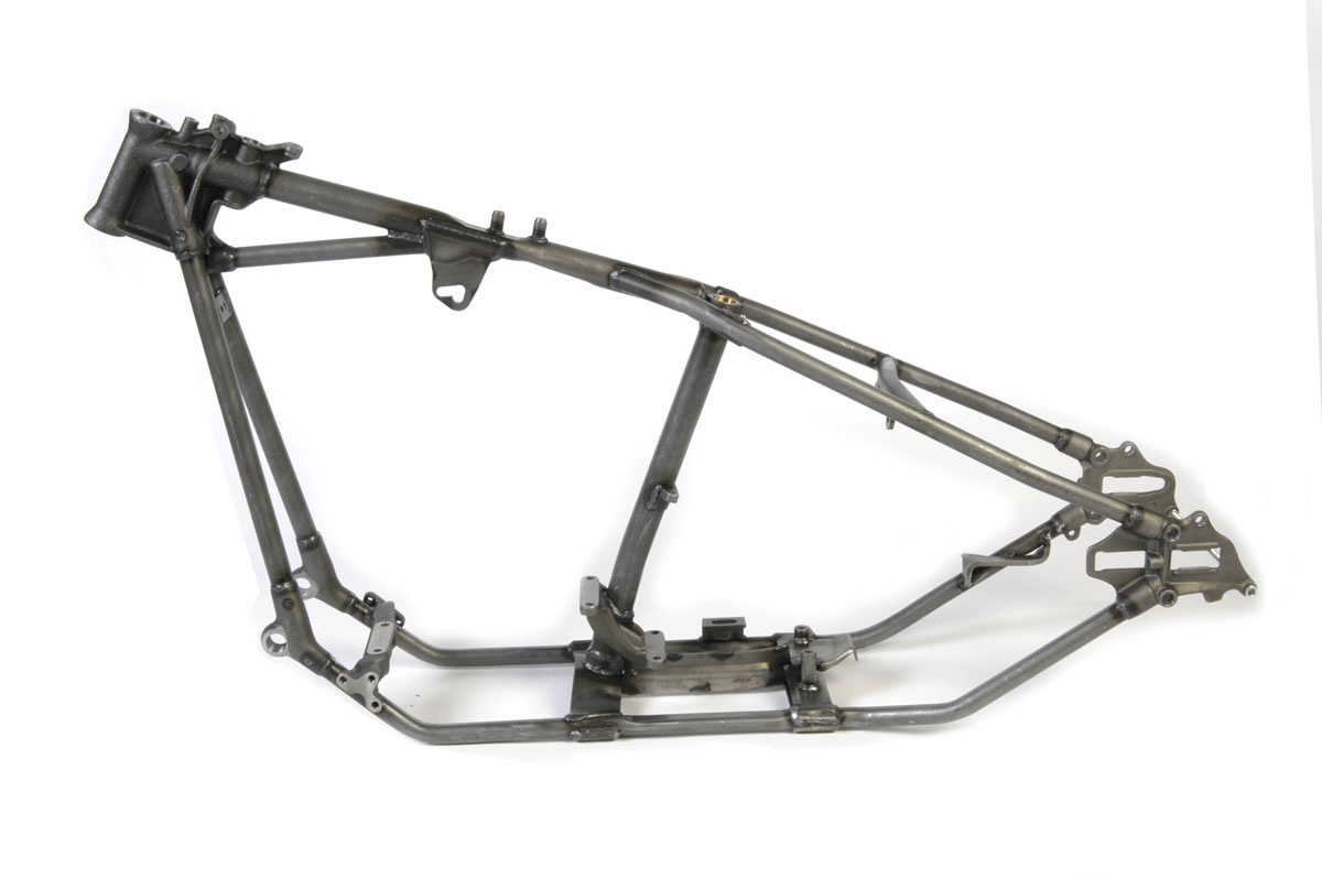 V-Twin Manufacturing - Replica retro rigid frame straight leg ...