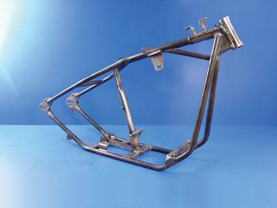 V-Twin Manufacturing - Paughco straight leg rigid frame features