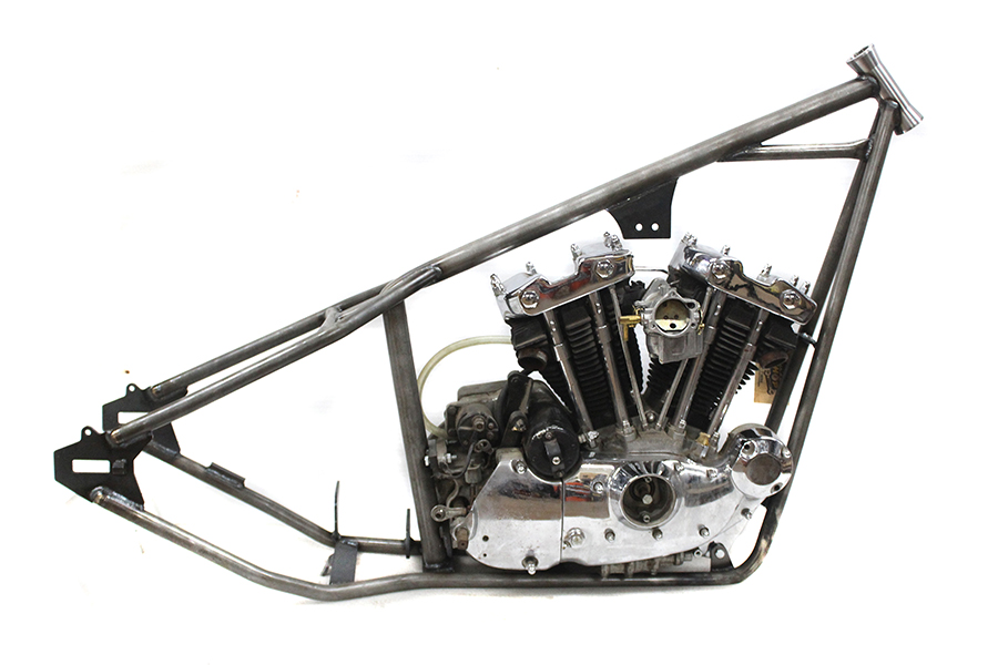 V-Twin Manufacturing - 200 XL rigid frame features a 40° rake with a ...
