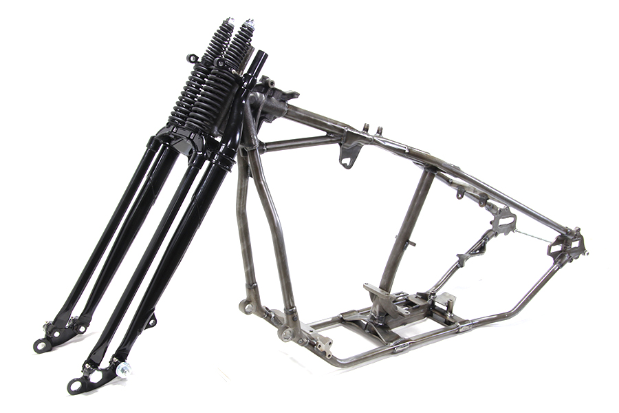 V-Twin Manufacturing - Frame and fork kit includes 1948 panhead ...