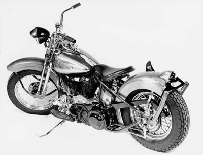 Our chrome Replica Panhead Kit includes chrome details on a 1948 complete replica motorcycle kit, unassembled.