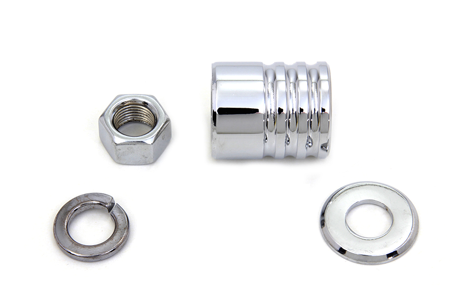 V-Twin Mfg 9994-4 Front Axle Spacer Kit Groove Style