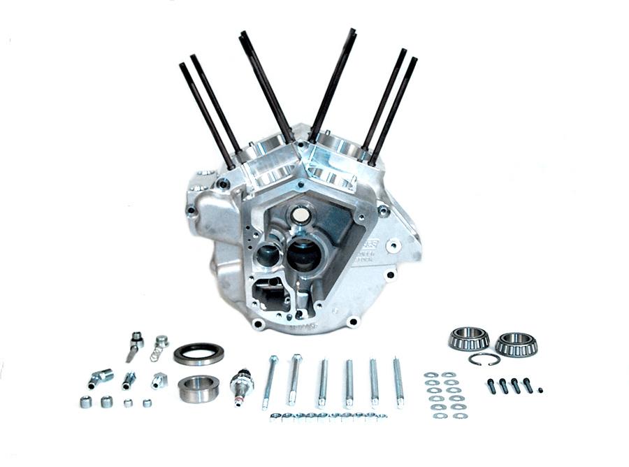 S&S Engine Crankcase Set Stock Bore