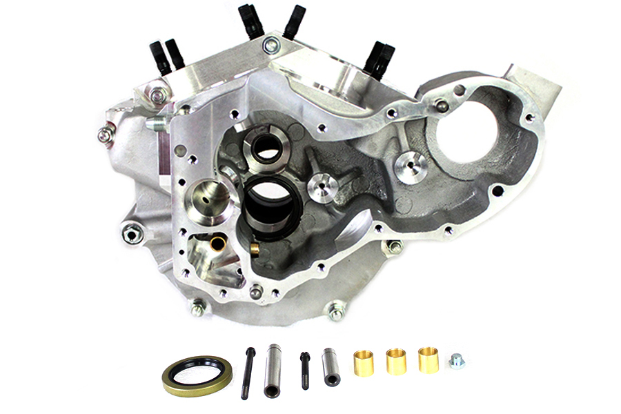 V-Twin Bare Engine Case Set