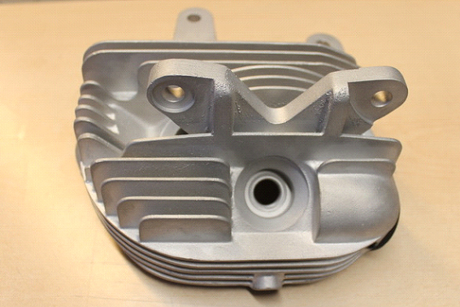 Knuckle Bare Cylinder Head Set Aluminum