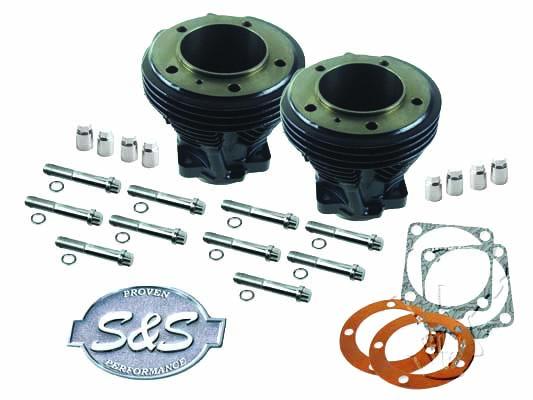 "80"" Shovelhead S&S Cylinder Set"