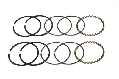 "VTwin Hastings 74"" Motorcycle Standard Engine Piston Ring Set 54-77 Harley FL FX"