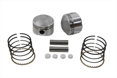 "74"" Overhead Valve Forged Piston Set Standard Size"