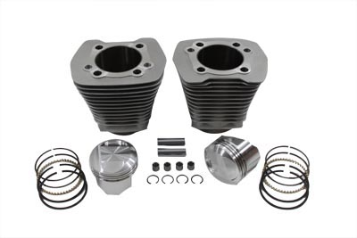 Evolution Cylinder and Piston Kit Silver