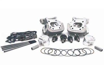 *UPDATE Black Cylinder Head Set with Valves