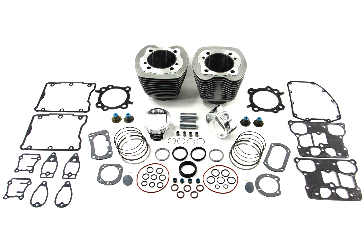 """95"""" Big Bore Twin Cam Cylinder and Piston Kit"""