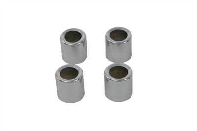 Pushrod Cover Spring Cup Set Chrome