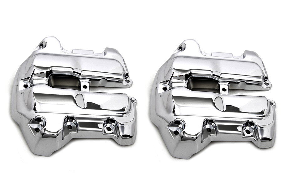 M8 Rocker Box Cover Set Chrome