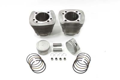 883cc to 1200cc Cylinder and Piston Conversion Kit Silver