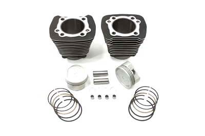 883cc to 1200cc Cylinder and Piston Conversion Kit Black