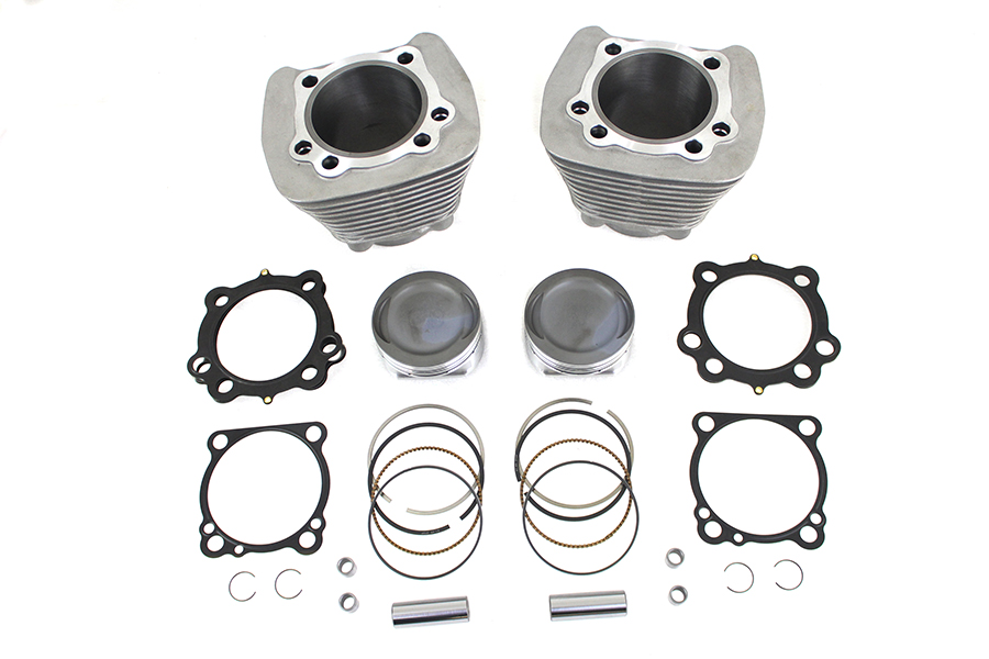 1270cc Cylinder and Piston Conversion Kit Silver