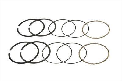 """74"""" Moly Piston Ring Set .010 Oversize"""