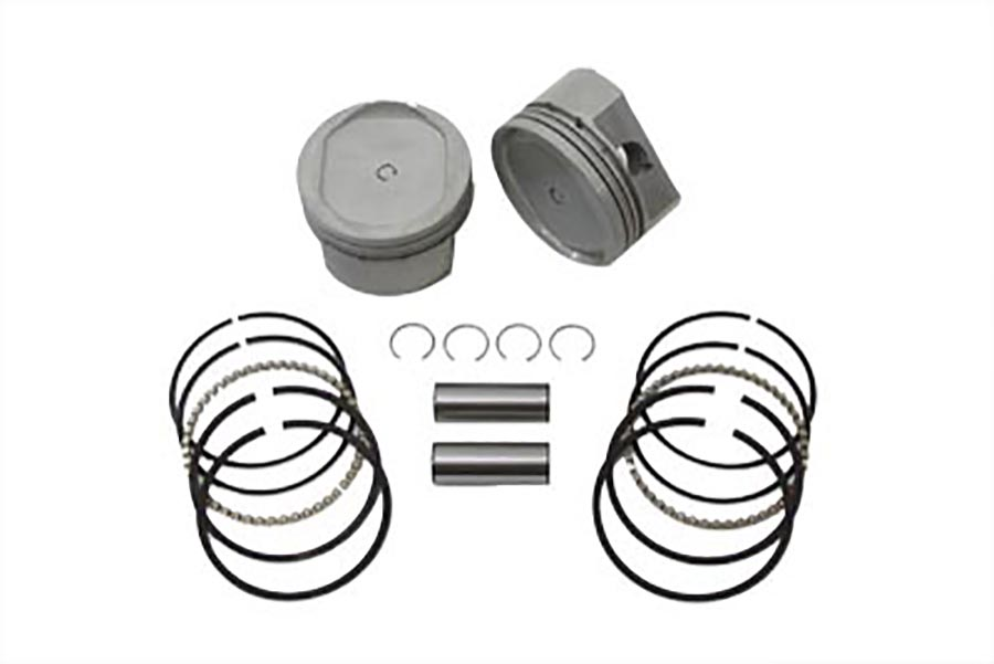 883cc to 1200cc Conversion Piston Set Standard 3.498""