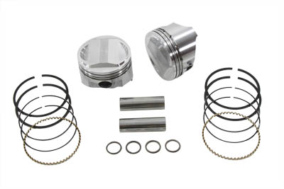 "88"" Twin Cam Piston Set Standard"