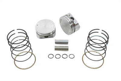 "95"" Twin Cam Piston Set Standard"